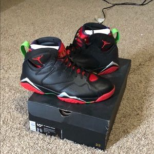 "Jordan retro 7 ""Marvin the Martian"""